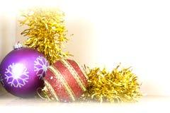 La Navidad Fondo del Año Nuevo Vacaciones de invierno Fotografía de archivo libre de regalías