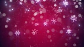 La Navidad, fondo del lazo del Año Nuevo en color rojo libre illustration
