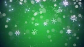 La Navidad, fondo del lazo del Año Nuevo en color verde libre illustration