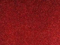 La Navidad glittery roja o fondo festivo foto de archivo libre de regalías