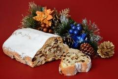 La Navidad hecha en casa de la empanada Fotografía de archivo