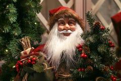 La Navidad hermosa y Años Nuevos de escena Imagen de archivo