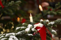 La Navidad hermosa y Años Nuevos de escena Foto de archivo libre de regalías