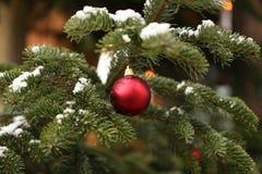 La Navidad hermosa y Años Nuevos de escena Imagen de archivo libre de regalías