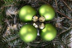 La Navidad hermosa y Años Nuevos de escena Imágenes de archivo libres de regalías
