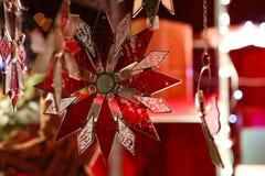 La Navidad hermosa y Años Nuevos de escena Fotos de archivo