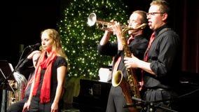 La Navidad Jazz Performance almacen de video