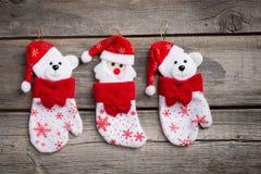 La Navidad juega decoraciones Imagenes de archivo
