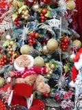 La Navidad juega el fondo Imagenes de archivo