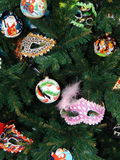 La Navidad juega el fondo Imágenes de archivo libres de regalías