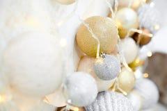 La Navidad juega el primer foto de archivo libre de regalías