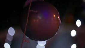 La Navidad juega la bola almacen de metraje de vídeo