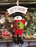 La Navidad juega milagro del día de fiesta de la Navidad un fondo mágico de hadas hermoso del humor alegre Imagen de archivo libre de regalías