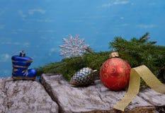 La Navidad, juguetes de la Navidad Imagen de archivo libre de regalías