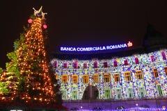 La Navidad justa Foto de archivo