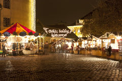 La Navidad justa en Budapest Fotos de archivo