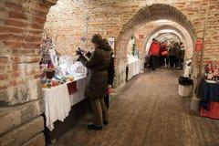La Navidad justa en el bastión de Hamina, galería Fotografía de archivo