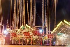 La Navidad justa en Hyde Park en 2016 Imagen de archivo libre de regalías