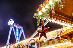 La Navidad justa en Hyde Park en 2016 Fotos de archivo libres de regalías