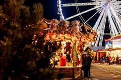 La Navidad justa en Hyde Park en 2016 Imagenes de archivo