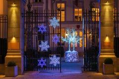 La Navidad mágica Fotos de archivo