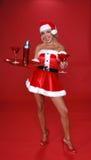 La Navidad Martini Foto de archivo libre de regalías
