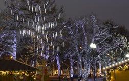 La Navidad Moscú Imagen de archivo libre de regalías