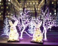 La Navidad Moscú Imagenes de archivo