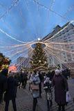 La Navidad Moscú, Rusia del Año Nuevo Imagen de archivo libre de regalías