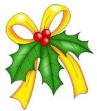 La Navidad, muérdago Imagen de archivo