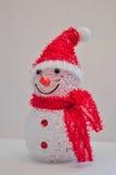 La Navidad, muñeco de nieve Fotografía de archivo