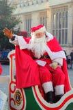 La Navidad o Pap? Noel del padre Fotos de archivo libres de regalías