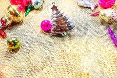 La Navidad Opinión del día de fiesta desde arriba Fotografía de archivo