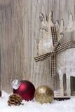 La Navidad, ornamento de la Navidad Fotografía de archivo libre de regalías