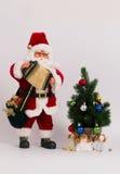 La Navidad Papá Noel Imágenes de archivo libres de regalías