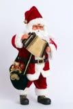 La Navidad Papá Noel Foto de archivo