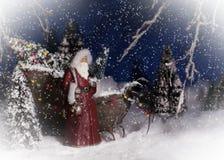 La Navidad Papá Noel Fotos de archivo