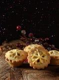 La Navidad pica las empanadas Imagen de archivo