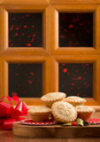 La Navidad pica las empanadas Imagenes de archivo