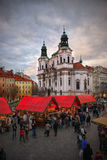 La Navidad Praga Foto de archivo libre de regalías