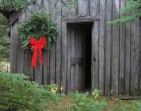 La Navidad primitiva Foto de archivo libre de regalías