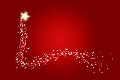 La Navidad que desea la estrella del centelleo Foto de archivo