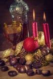 La Navidad rústica Fotografía de archivo libre de regalías