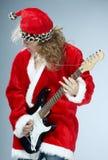 La Navidad roca-n-rueda fotografía de archivo libre de regalías