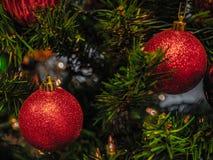 La Navidad roja fotos de archivo
