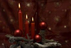 La Navidad roja. Imagen de archivo libre de regalías
