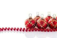 La Navidad roja Fotografía de archivo libre de regalías