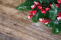 La Navidad roja y blanca Foto de archivo