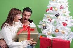 La Navidad romántica Imagen de archivo libre de regalías