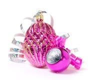 La Navidad rosada fotografía de archivo libre de regalías